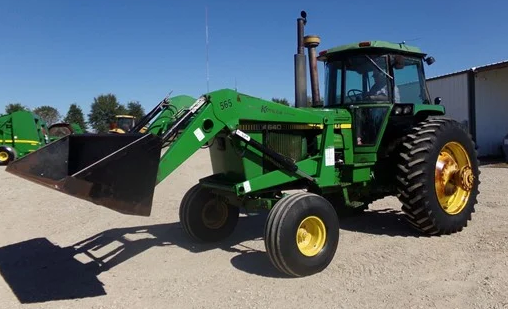 John Deere 4640 runs just will not shift in any gears with out dieing